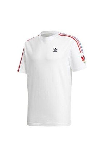 Erkek Beyaz Spor T-Shirt