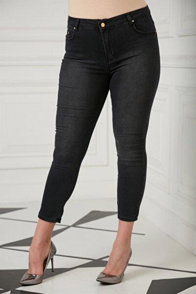 RMG Kadın Füme Büyük Beden Pantolon