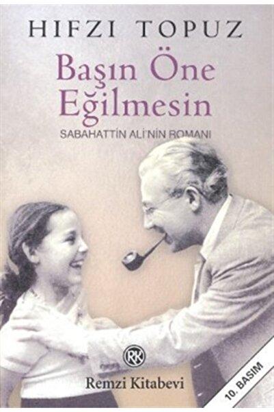 Remzi Kitabevi Başın Öne Eğilmesin Sabahattin Ali'nin Romanı