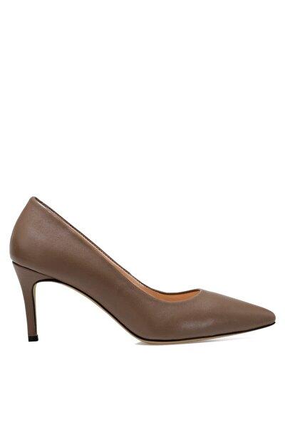 Nine West Kadın Vizon Cavır Gova Topuklu Ayakkabı