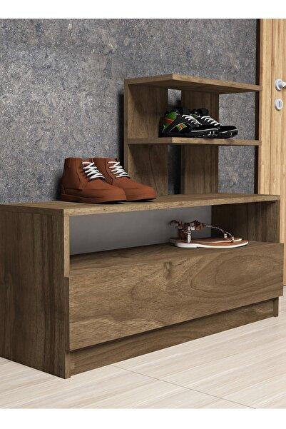 Puzzle Design Aıry Ceviz Ayakkabılık