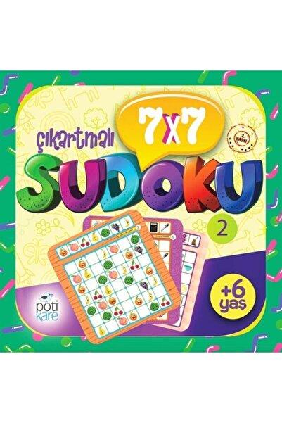Pötikare Yayıncılık 7x7 Sudoku 2 6+ Yaş