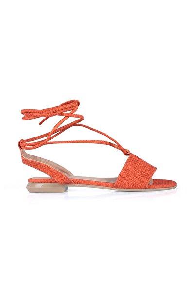 Oblavion Kadın Turuncu Sandalet