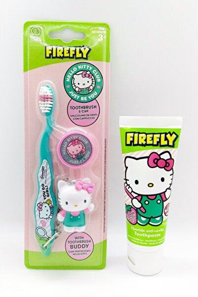 Hello Kitty Hello Kıtty Diş Macunu Ve Anahtarlık Hediyeli Diş Fırçası Seti