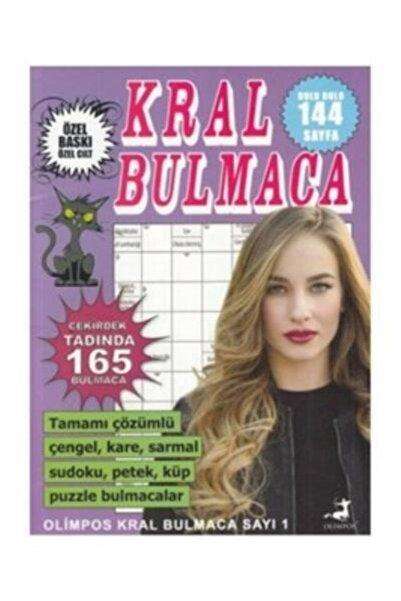 Olimpos Yayınları Kral Bulmaca Sayı 1