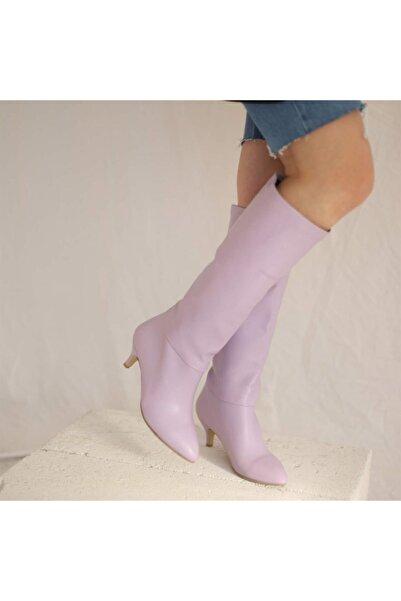 Posse Shoes Mary Mat Çizme Lila