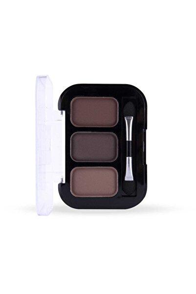 Cocosh She Eyebrow High-brow True Color 02 Medium 3'lü Kaş Farı -8681569700314