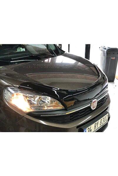 NamTuning Fiat Doblo Kaput Rüzgarlığı Parlak Siyah 2015-2018 Arası