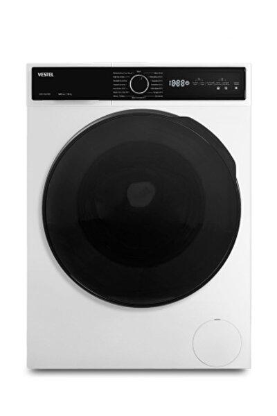 Vestel KCMI 98142 WIFI 9 kg / 6 kg 1400 Devir Kurutmalı Çamaşır Makinesi