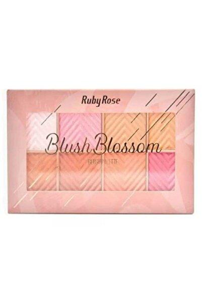 Ruby Rose Blush Blossom Blush Palette Allık Paleti - 6295125025555