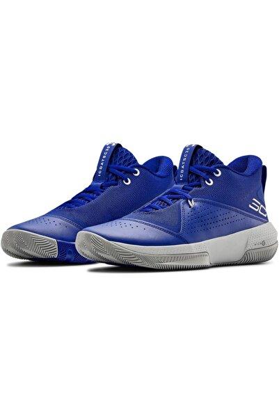 Under Armour Erkek Mavi Basketbol Ayakkabısı