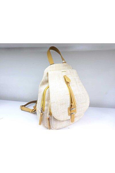 Matmazel Kadın Sarı Çanta