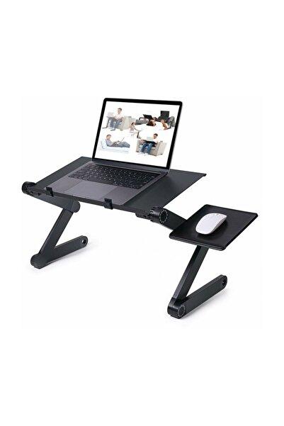 Techmaster Yükseklik Ayarlı Laptop Notebook Mousepadli Ders Çalışma Masası
