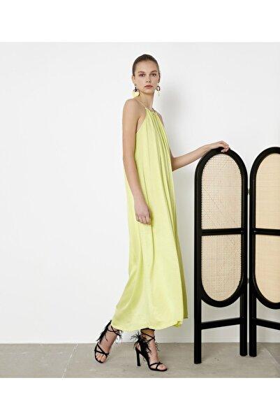 İpekyol Kadın Yeşil Askılı Elbise