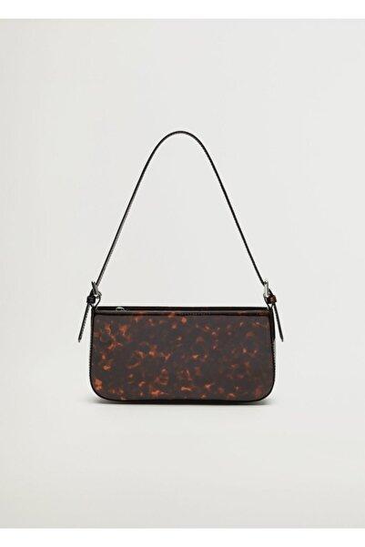 MANGO Woman Kadın Kahverengi Çanta