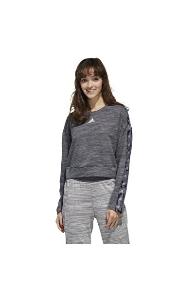 adidas Kadın Gri Essentials Tpe Sweatshirt
