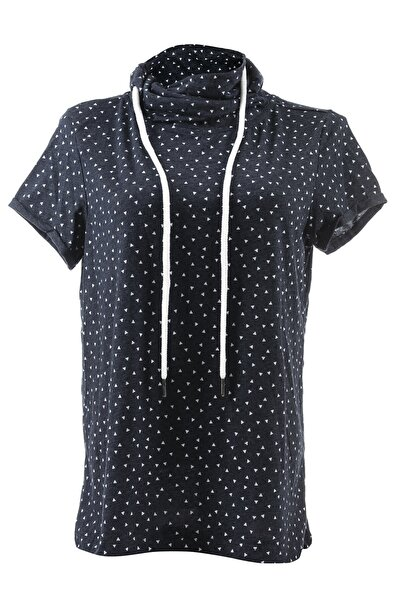 LETOON J7 Kadın Tişört - Lacivert