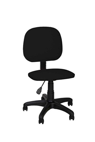 FİLE EV Ofis Sandalyesi Sekreter Koltuğu Bilgisayar Koltuğu Kolsuz Çalışma Taburesi