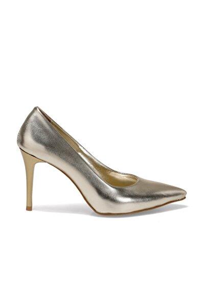 Butigo Efsa Altın Kadın Topuklu Ayakkabı