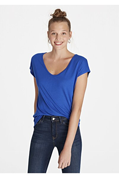 Mavi Basic Tişört