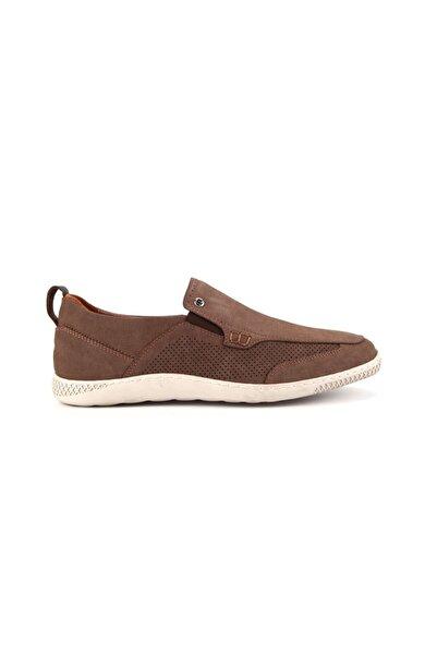 Pierre Cardin 62223 Erkek Bej Hakiki Nubuk Deri Günlük  Ayakkabı