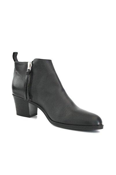 Beta Shoes Kadın Hakiki Deri Bot Siyah