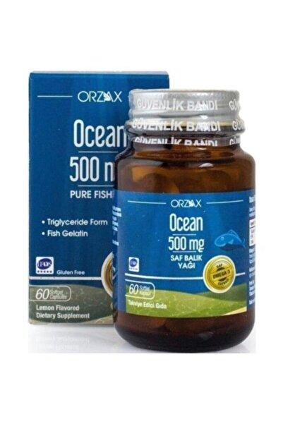 Ocean Pure Balık Yağı 500mg 60 Kapsül