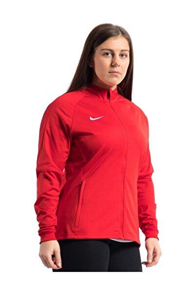 Nike Kadın Kırmızı Fermuarlı Ceket