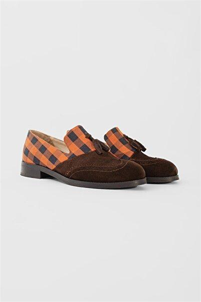 Shoes & More Kadın Turuncu Multi Ayakkabı