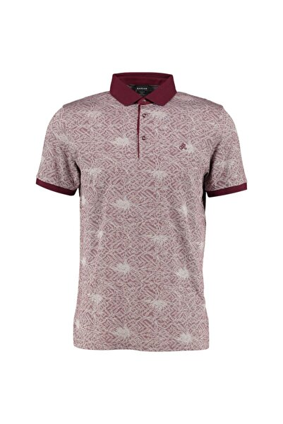 Sarar Erkek Bordo Polo Yaka T-shirt