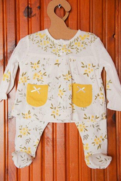 Dandini Sarı Çiçekli 2'li Takım