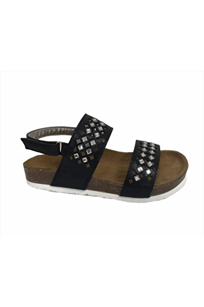 Sanbe 502 L 4102 26-30 Suni Deri Sandalet-platin