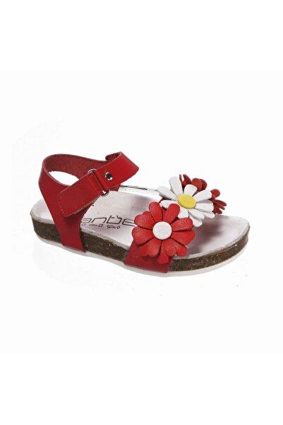 Sanbe 511 L 3801 26-30 Deri Sandalet-kırmızı
