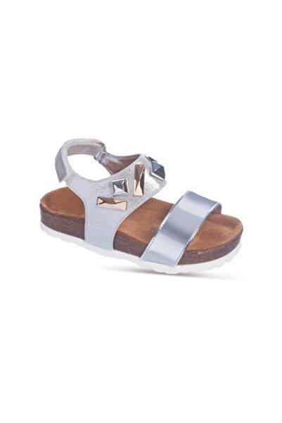 Sanbe 503 N 7104 31-36 Suni Deri Sandalet-lame