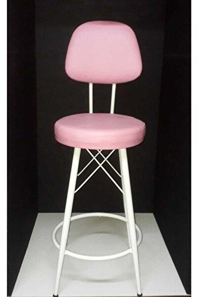 J&S QUALİTY Pembe Mutfak Sandalyeleri 65 cm