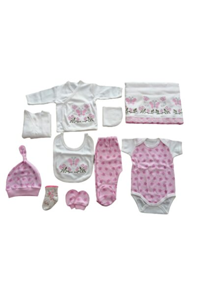 Dandini Kız Bebek Pembe Hastane Çıkışı 10'lu
