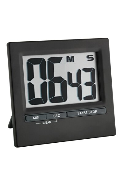 TFA Dostmann Mıknatıslı Dijital Zamanlayıcı, Geri Sayım Cihazı, Kronometre