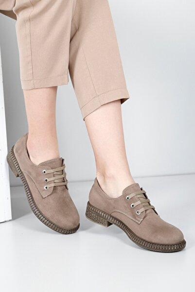 G.Ö.N Kadın Bej Günlük Ayakkabı 38440