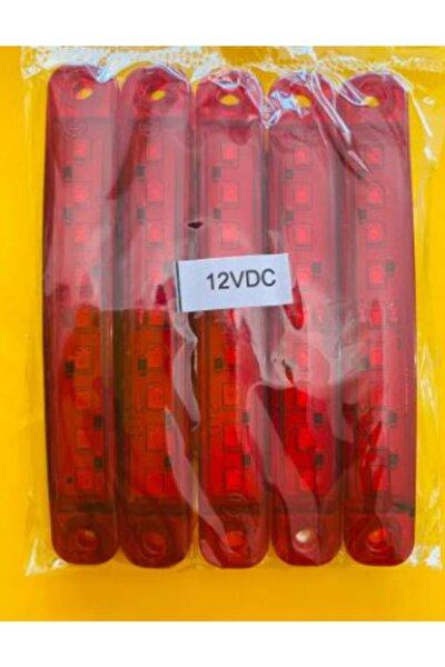 Momo Ultra Parmak Led 5'li Kırmızı