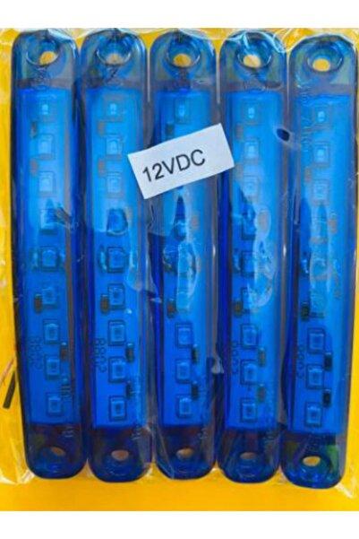 Momo Ultra Parmak Led 5'li Mavi