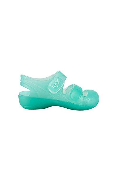 IGOR S10110-034 Bondı Yeşil Çocuk Sandalet