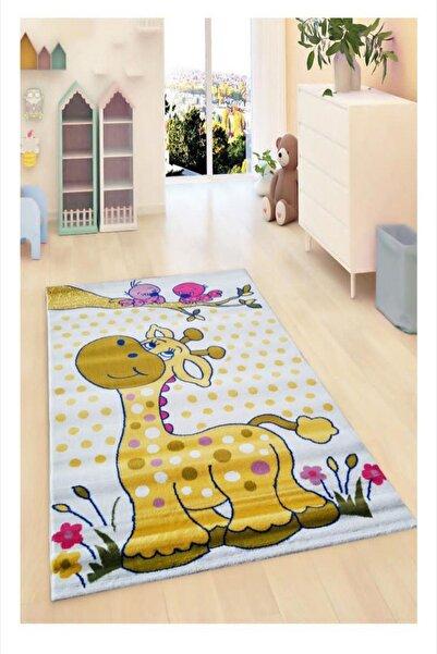 Payidar Halı Kids Amigo 8518A Minik Zürafa Çocuk Halısı