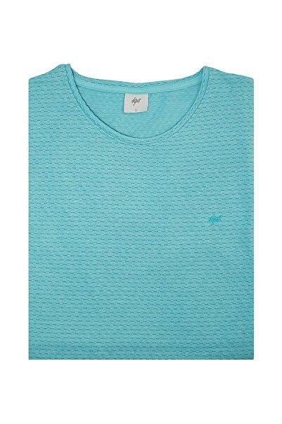 İgs Erkek Mint Slim Fit Tişört