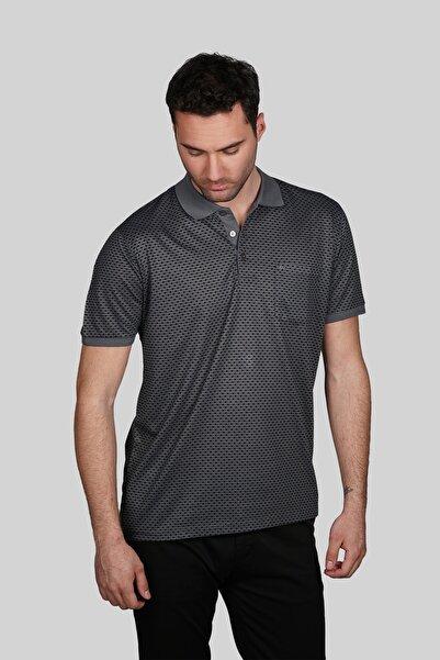 İgs Erkek Siyah Regular Fit Polo Yaka T-shirt