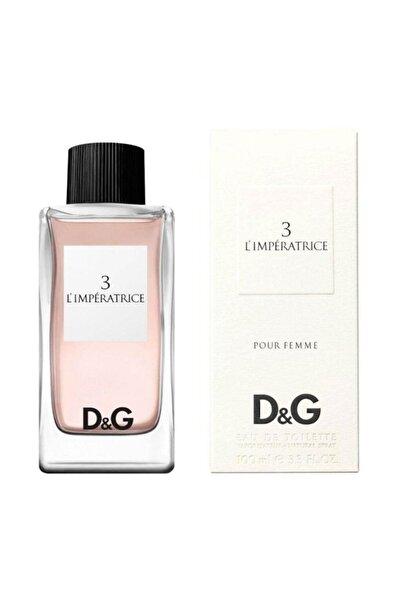 Dolce Gabbana 3 L'ımperatrıce Pour Femme Edt 100 Ml Kadın Parfümü