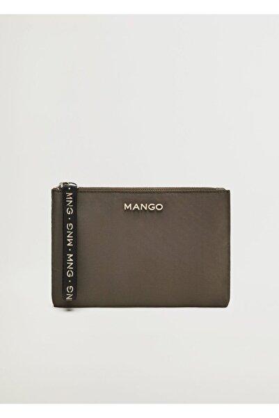 MANGO Woman Logolu Kozmetik Çantası