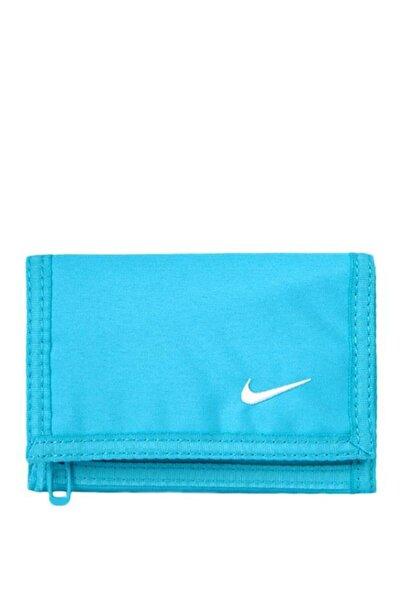 Nike Unisex Turkuaz Basic Wallet  Spor Cüzdan