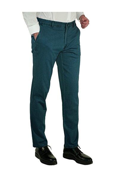 İgs Erkek Mavi Regular Fit Pantolon