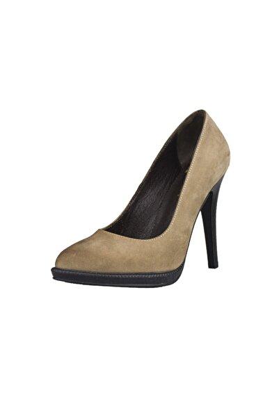 Gusse Kadın Vizon Deri Ayakkabı