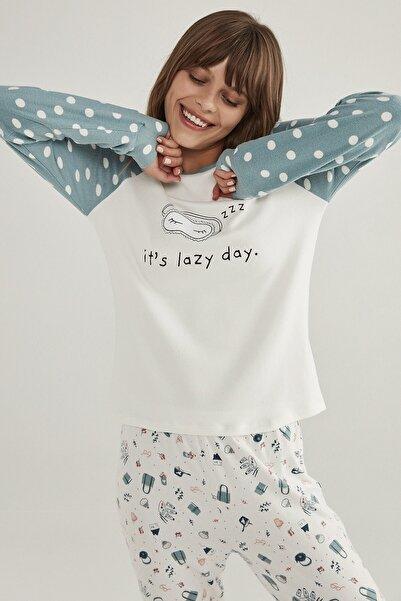 Penti Kadın Lazy Day Termal Tişört